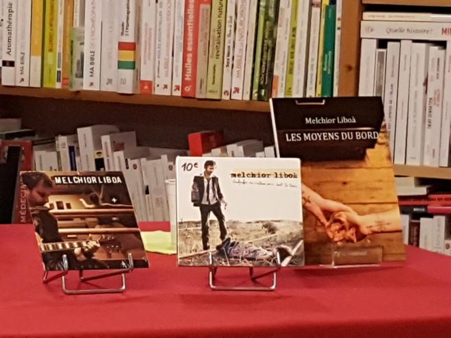 Melchior Liboà publie son premier livre