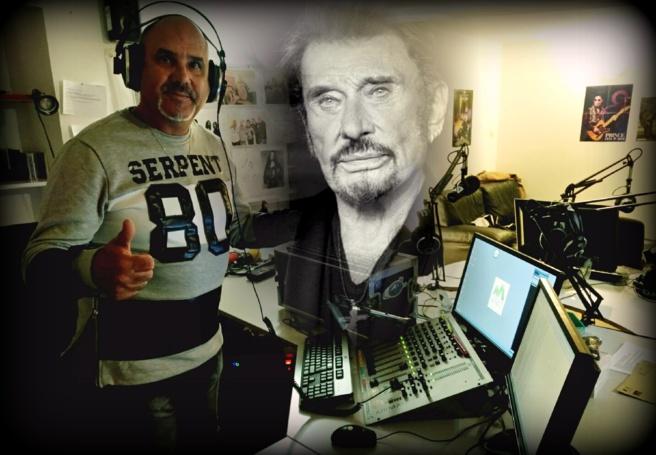Patrick, chanteur et musicien rend hommage à Johnny Hallyday