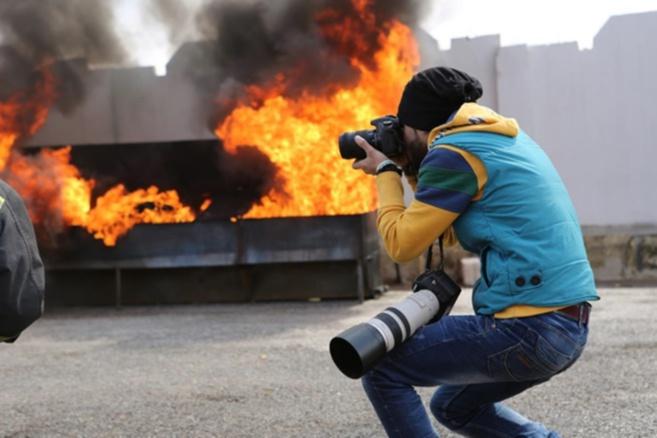 Louai a photographié sa ville Alep, cité-martyre de Syrie