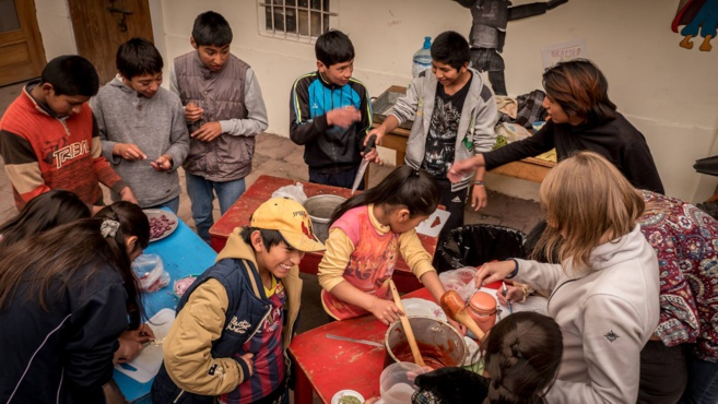 MELGAR soutient les enfants de Cusco au Pérou