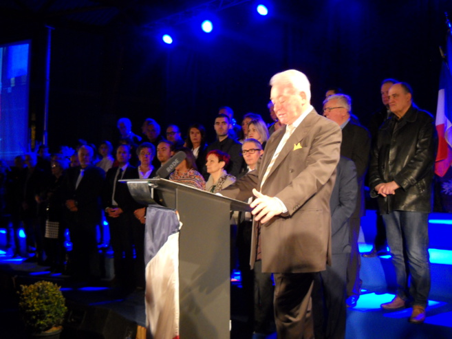 les vœux de Daniel Spagnou à Sisteron pour 2018