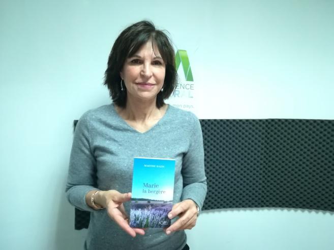 Martine Bazin publie son premier roman : Marie la bergère est un polar bas-alpin