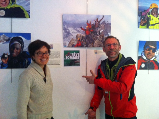 Hugues Chardonnet  et Mathilde Gal : 82-4000 solidaires