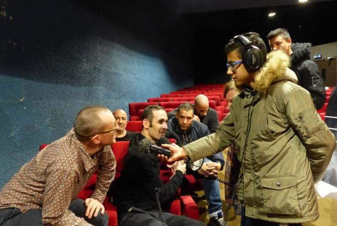 A Briançon, Fréquence spectacle forme de jeunes reporters…
