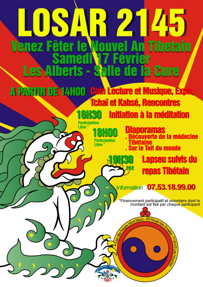 Le nouvel an tibétain s'invite à Briançon