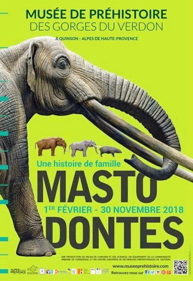 Les Mastodontes débarquent au Musée de préhistoire de Quinson