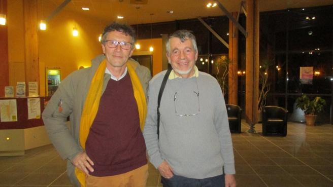 Pierre Pezerat et Régis Coulange (Amnesty international)
