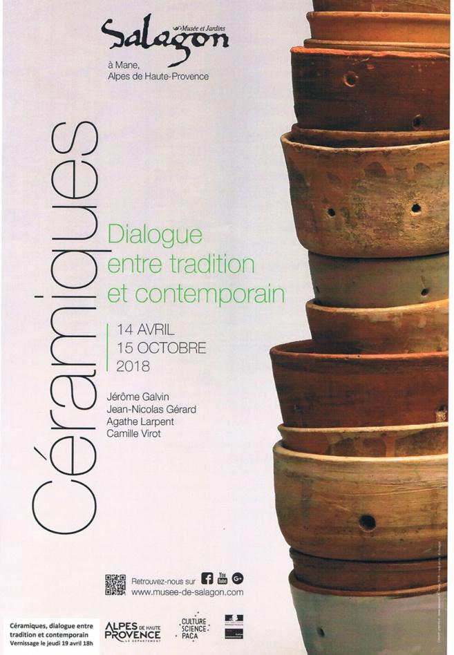 Salagon propose une exposition de céramiques…