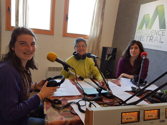 Cécile Chevallier, Martine Vallon, et Magali Henry