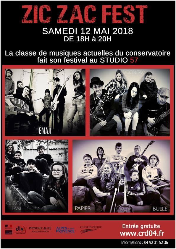 Activités florissantes de la Classe des Musiques Actuelles à Digne