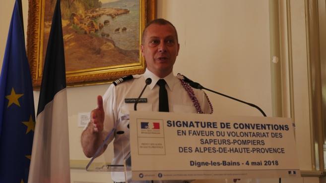 Les pompiers du 04 ont signé plusieurs conventions