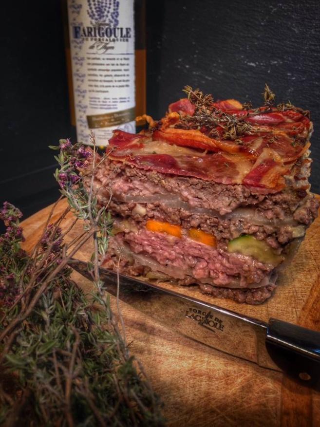 Terrine-de-bœuf-et-filet-de-porc-à-la-Farigoule
