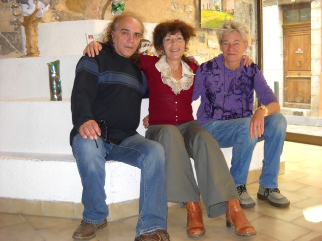 Les émotions artistiques s'exposent et se partagent à Sisteron