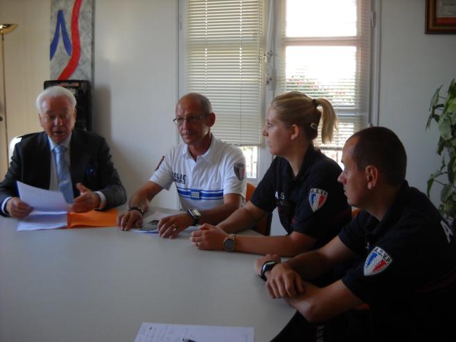 La sécurité en mode estival à Sisteron