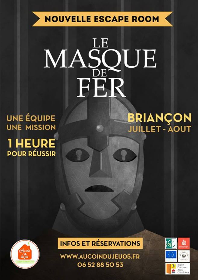 L'intrigue estivale à Briançon : le masque de fer !