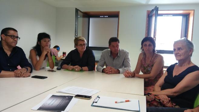 Forcalquier a accueilli la députée Fontaine-Domeizel