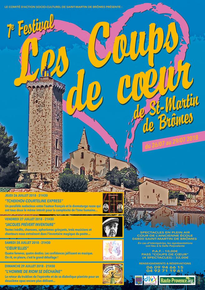 Saint-Martin de Brômes va célébrer le théâtre…