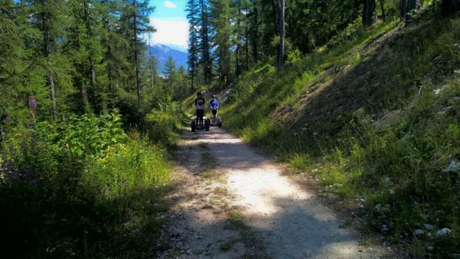 Une ballade en segway à  Serre-Chevalier Vallée  Briançon