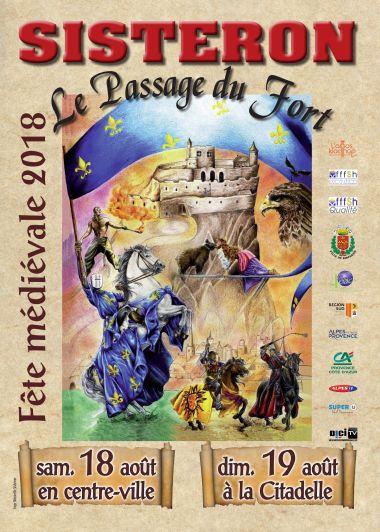 Oyez, oyez, le Passage du Fort arrive à Sisteron !