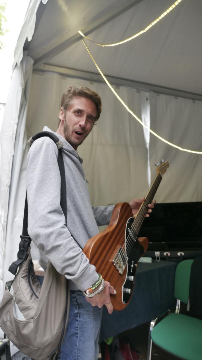Quand un luthier fait la foire…