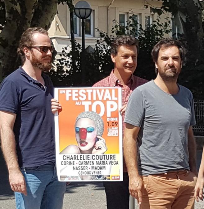 Grégory Montel : un Top et ses potes à Digne !