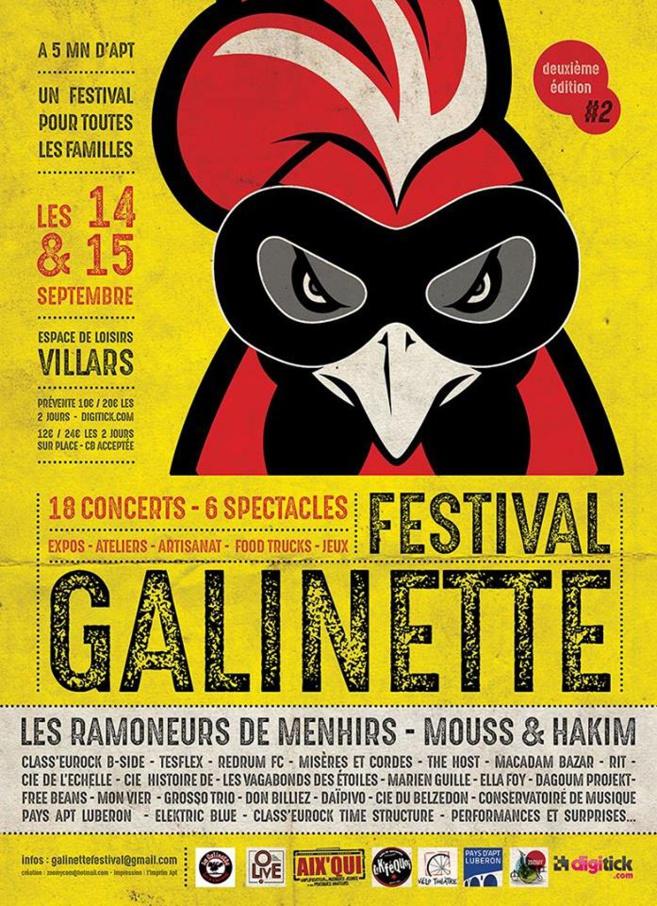 Galinette Festival un rendez-vous incontournable !