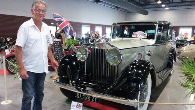 Des véhicules rutilants pour une expo so british!