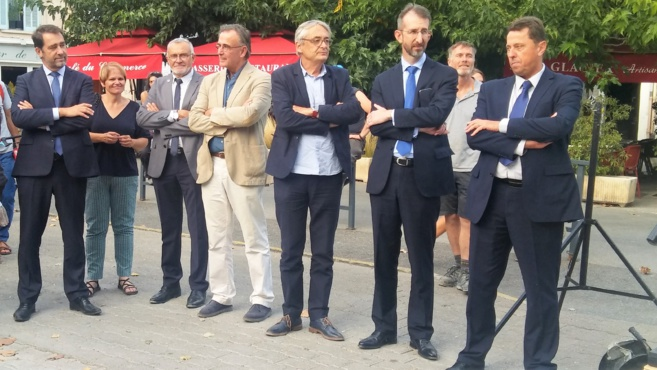 Une visite préfectorale et ministérielle à Forcalquier