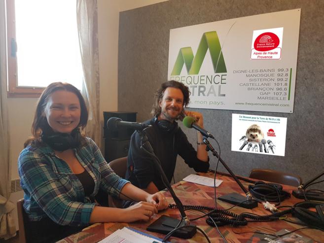 Liza Cugnez et Christophe Lucarz