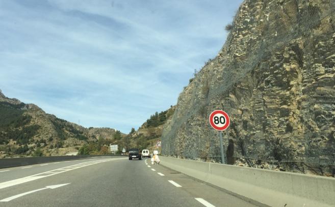 Les Briançonnais expriment leur rejet du 80 km/h