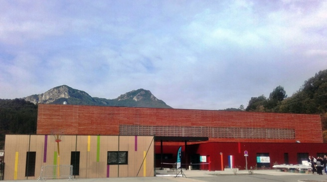 Le gymnase de Castellane porte le nom de Gilbert Sauvan