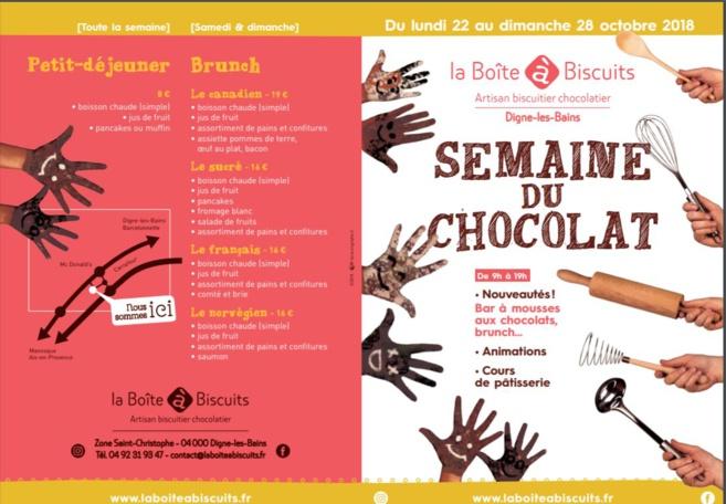 Une semaine au parfum du chocolat à Digne