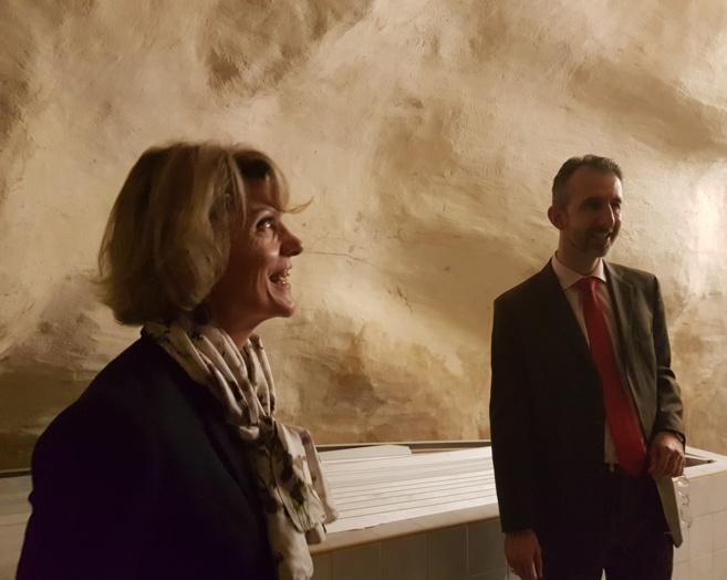 Quand l'Etat visite les thermes de Digne-les-Bains