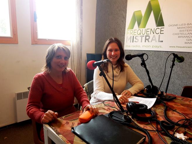 Valérie Neron et Liza Cugnez