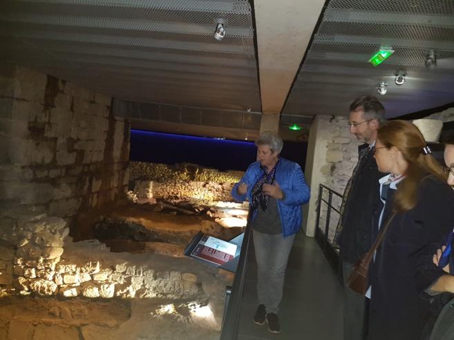 La crypte de Notre Dame du Bourg se dévoile…