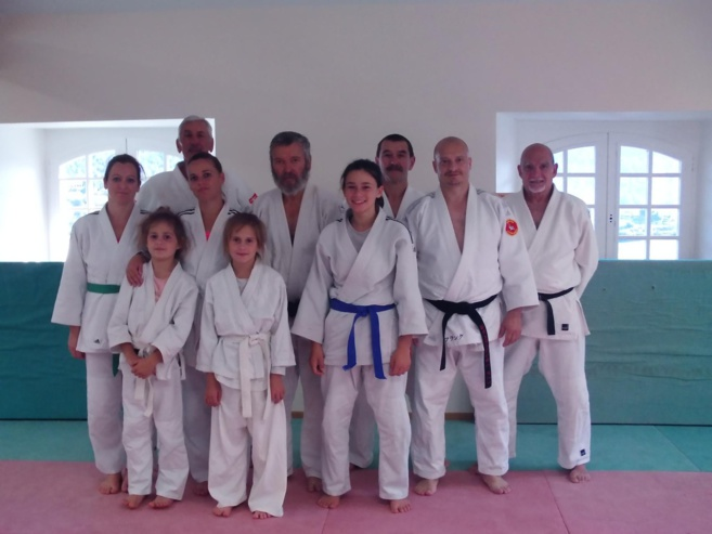 Une section du judo castellanais à la Palud-sur-Verdon