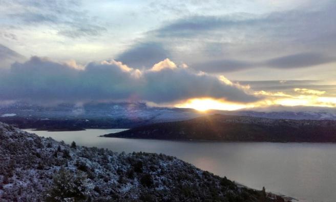 Lac de Sainte-croix - Hiver