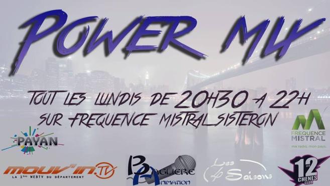 Power Mix du Lundi 3 décembre !