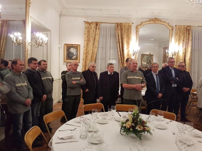 Les lieutenants de louveterie mis à l'honneur en préfecture