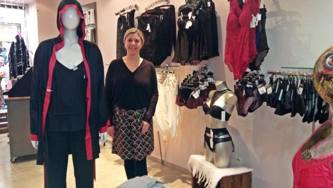 «Les dessous d'Angel»: une boutique à l'essai en toute séduction…