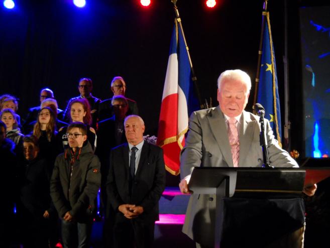 Ambiance chaleureuse et émotions pour la cérémonie des vœux à Sisteron !