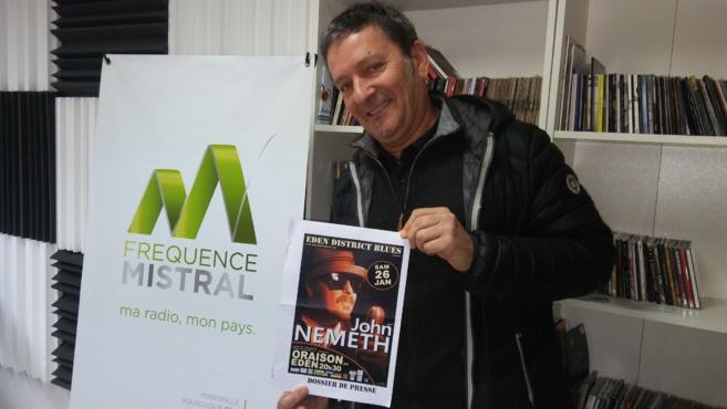 Musicien américain, John Nemeth est en concert samedi à Oraison