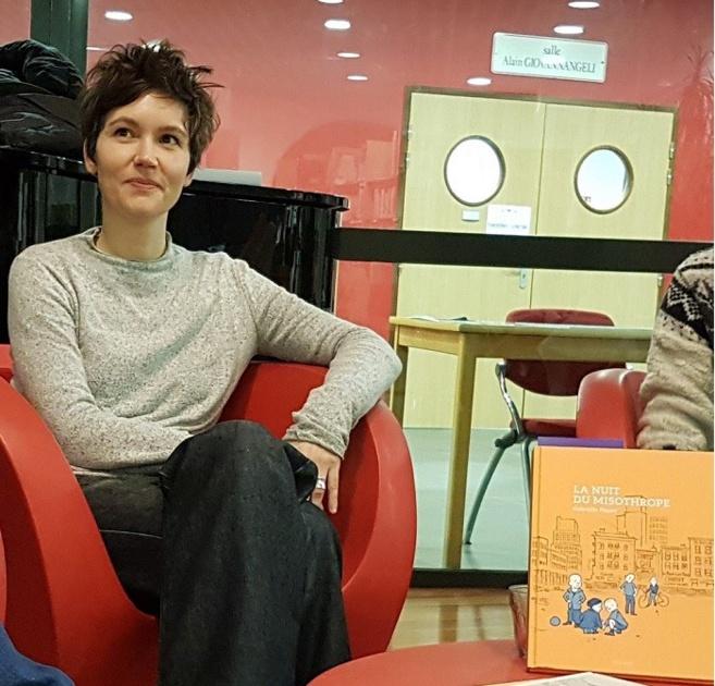 Gabrielle Piquet à la rencontre de jeunes lecteurs…