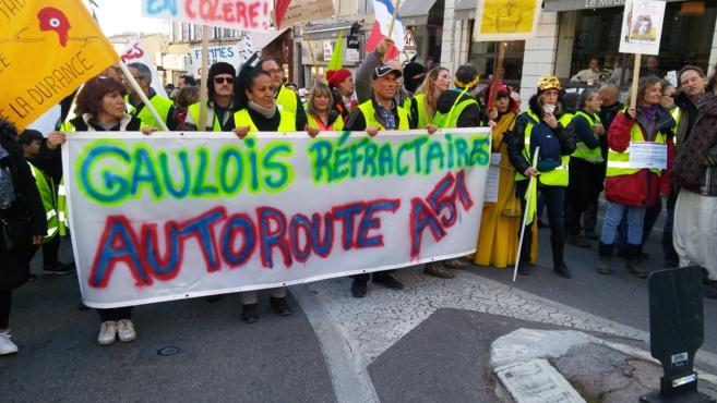 Gilets jaunes: la manifestation de Manosque a dégénéré ce samedi