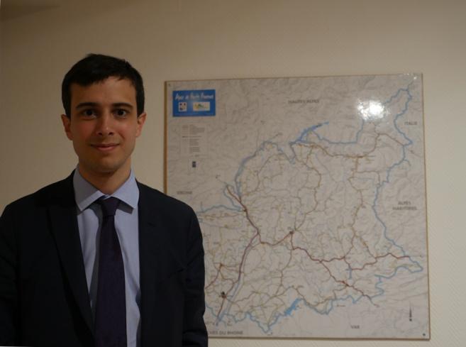 Amaury Decludt est en poste à Digne