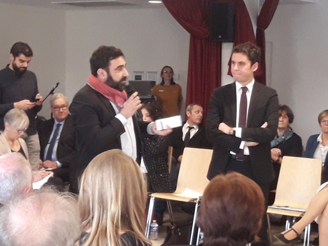 Marseille: un ministre au contact des associations