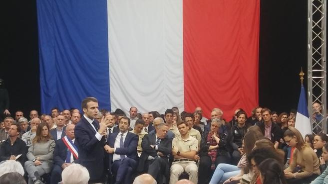 Ils ont assisté au Grand débat à Gréoux