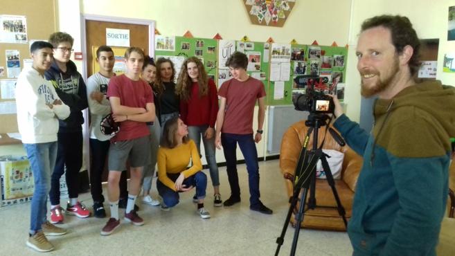 Des jeunes Laragnais tournent leur propre film