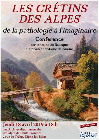 """Histoires d'Archives, """"les crétins des Alpes"""""""