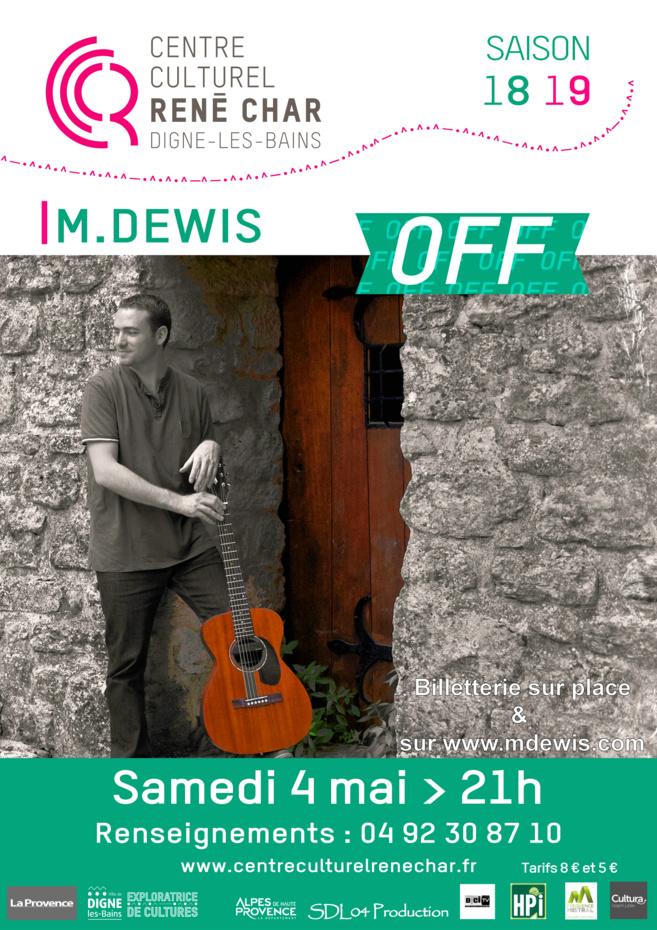 Rencontre avec M.DEWIS, bientôt en concert à Digne les bains